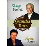 Grandes Vozes Vol. 6 (DVD) - Tony Bennett, Tom Jones