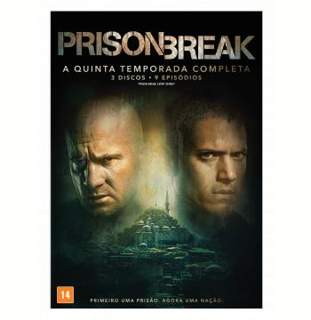 Prison Break - 5ª Temporada Completa (DVD)