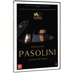 DVD - Pasolini - Maria de Medeiros, Willem Dafoe, Ninetto Davoli - 7898570991339