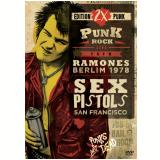 Ramones Berlim 1978 + Sex Pistols San Francisco - Live - Dvd - Edition 2x Punk (DVD) - Ramones Berlim