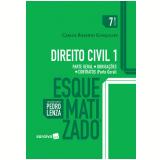 Direito Civil 1 Esquematizado - Carlos Roberto Gonçalves