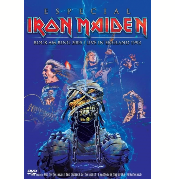 Iron Maiden Especial - Rock Am Ring 2005 - Live In England 1993 (DVD)