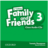 Family And Friends 3 Teacher's Book Class Cd (audio Cd) - Second Edition -