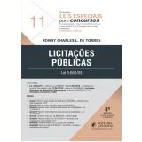 Licitações Públicas - Lei 8.666/93 (Vol. 11) - Leonardo Garcia, Ronny Charles L. De Torres