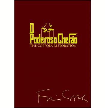 O Poderoso Chefão: The Coppola Restoration - Trilogia (DVD)