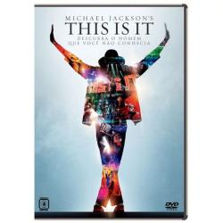 DVD - Michael Jackson ´ s - This Is It - Michael Jackson - 7892770023586