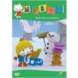 DVD - Musti - Disco 1 - Diversão no Inverno - Werner Jacquet ( Diretor ) - 7898489242546