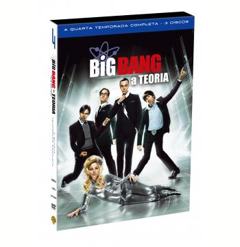 Big Bang: A Teoria - 4ª Temporada (DVD)
