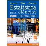 Estatística para ciências humanas (Ebook) - Jack Levin