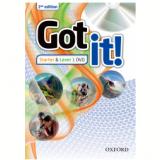 Got It! Starter & 1 Dvd - Second Edition (CD) -