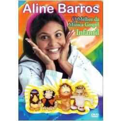 DVD - O Melhor da Música Gospel Infantil - Aline Barros - 886976504892