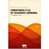 Comentários A Lei De Sociedades Anonimas (Vol. 4) Tomo I - Modesto Carvalhosa