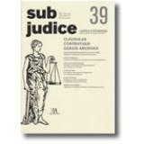 Sub Judice 39 - Cláusulas Contratuais Gerais Abusivas - Vários