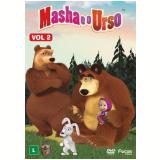 Masha e o Urso - Volume 2 (DVD) - Oleg Kuzovkov