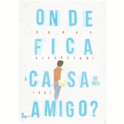 DVD - Onde Fica A Casa Do Meu Amigo ? - Abbas Kiarostami - 7898944083554