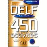 Delf 450 Activites (A1/A2/A3/A4) - Livre - Marie-louise Parizet