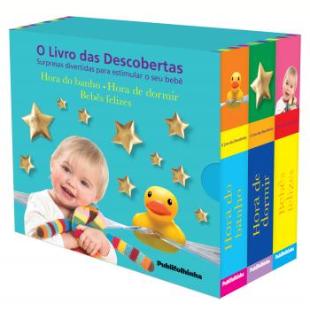 Caixa - O Livro Das Descobertas - (3 Vols)