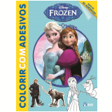 Disney Colorir Com Adesivos - Frozen - Jefferson Ferreira