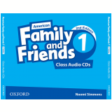 American Family And Friends 1 Class (3 Cds) - Second Edition -