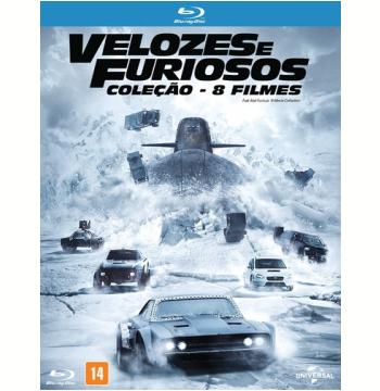 Coleção Velozes E Furiosos 1-8 (Blu-Ray)