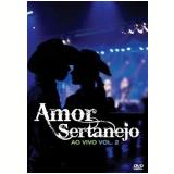 Amor Sertanejo - Ao Vivo - Volume 2 (DVD) - Vários