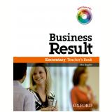 Business Result Elementary Teacher'S Book Dvd Pack -