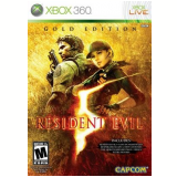 Resident Evil 5 - Gold Edition (X360) -