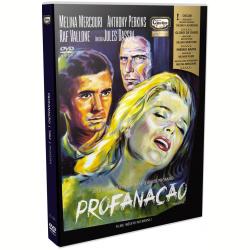DVD - Profanação - Anthony Perkins, Raf Vallone - 7898570941082