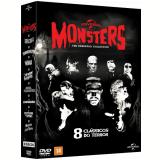 Coleção Monsters - 8 Clássicos do Terror (DVD) - Vários (veja lista completa)