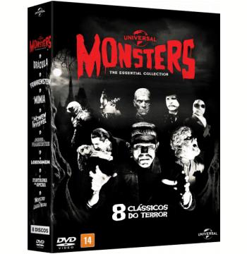Coleção Monsters - 8 Clássicos do Terror (DVD)
