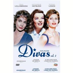 DVD - Box Divas - Vol. 2 - Katharine Hepburn, Sophia Loren, Gina Lollobrigida - 7898366216769