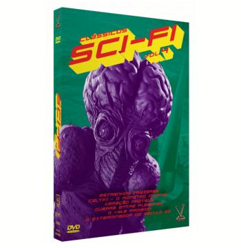 Clássicos Sci-Fi - Vol. 4 (DVD)