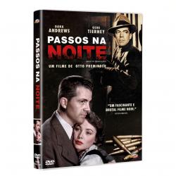 DVD - Passos Na Noite - Karl Malden, Dana Andrews - 7898366219210