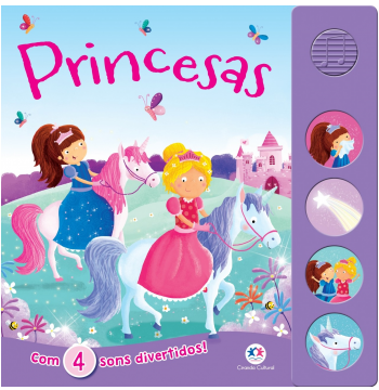 Princesas - Com 4 Sons Divertidos!