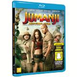 Jumanji - Bem-Vindo à Selva (Blu-Ray) - Dwayne Johnson, Jack Black, Kevin Hart