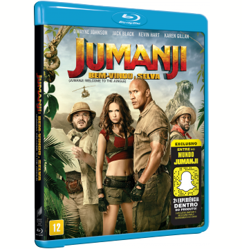 Jumanji - Bem-Vindo à Selva (Blu-Ray)