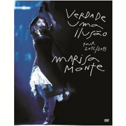 DVD - Marisa Monte - Verdade Uma Ilusão - Marisa Monte - 602537816224