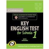 Cambridge Key English Test For Schools 1 With Answ - University Of Cambridge