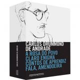 Caixa: Carlos Drummond de Andrade (4 Volumes) - Companhia das Letras