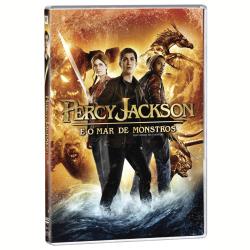 DVD - Percy Jackson E O Mar De Monstros - Stanley Tucci, Logan Lerman, Brandon T. Jackson - 7898512982302