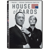 House Of Cards - 1� E 2� Temporadas Completas (DVD) - Robin Wright, Kevin Spacey
