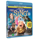 Sing - Quem Canta Seus Males Espanta (Blu-Ray 3D) +  (Blu-Ray) - Mariana Ximenes