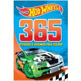 Hot Wheels - 365 Atividades e Desenhos para Colorir - Ciranda Cultural