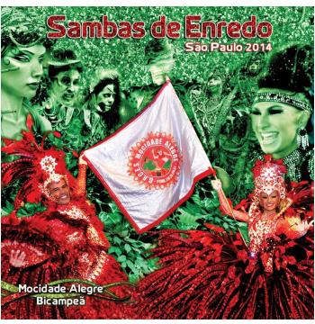 Sambas Enredos 2014 - São Paulo (CD)
