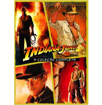 Quadrilogia Indiana Jones (DVD)