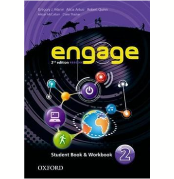 Engage 2 Student Book - Workbook With Multirom - Second Edition