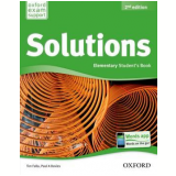 Solutions Elementary Student Book - Second Edition - Paul Davies