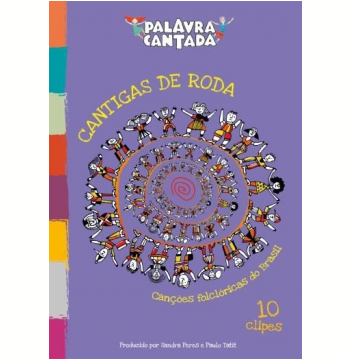Palavra Cantada-cantigas De Roda 10 Clipes (DVD)
