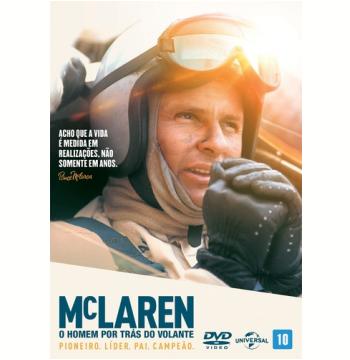 Mclaren: O Homem Por Trás do Volante (DVD)