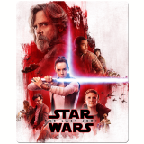 Star Wars - Steelbook (Blu-Ray + Blu-Ray 3D) - Mark Hamill, Carrie Fisher
